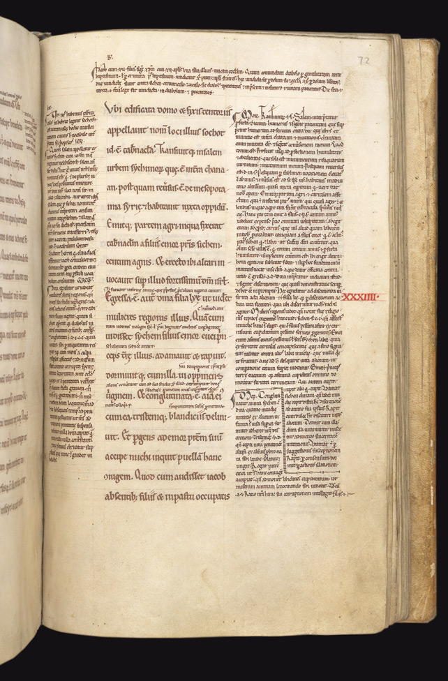 Jacob and Esau with Commentaries, in a Glossed Genesis